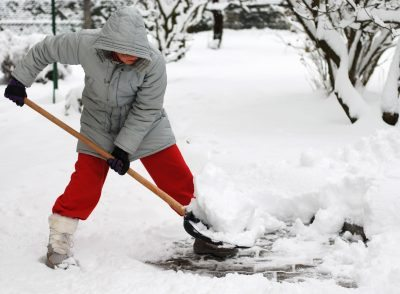 Tips to Avoid Back Pain When Shovelling Snow!